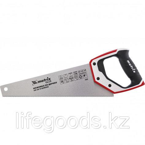 Ножовка по дереву для точных пильных работ, 350 мм, каленый зуб 3D, 14 TPI, трехкомпонентная рукоятка, Pro, фото 2