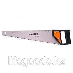 Ножовка по дереву, 400 мм, 5-6 TPI, каленый зуб, линейка, пластиковая рукоятка Sparta, фото 2