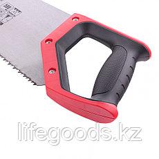 Ножовка по дереву, 500 мм, волновая вырубка, 3-4 TPI, каленый зуб 2D, двухкомпонентная рукоятка Matrix Master, фото 2