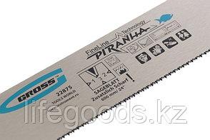 """Пильное полотно для прецизионного стусла """"Piranha"""", 600 мм, каленый зуб 3D, 18 TPI Gross, фото 3"""