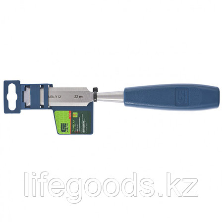 Стамеска, 22 мм, пластиковая рукоятка Сибртех, фото 2