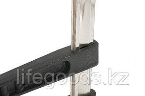 Струбцина F-образная, 400 х 120 х 500 мм, двойной упор Matrix Master, фото 2