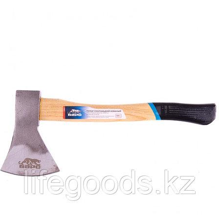 Топор плотницкий, кованый, деревянная рукоятка, 800 г, пескоструйное покрытие полотна Барс 21654, фото 2