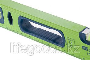 Уровень алюминиевый УС-1, 0-2000, фрезерованный, 3 глазка, рукоятки, 2000 мм Сибртех, фото 2