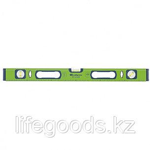 Уровень алюминиевый УС-1, 0-800, фрезерованный, 3 глазка, рукоятки, 800 мм Сибртех, фото 2