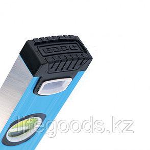 Уровень алюминиевый, 1200 мм, Профиль 1,6 мм, фрезерованный, ударопрочные заглушки, 3 глазка Барс, фото 2