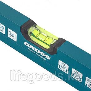 Уровень алюминиевый, 800 мм, 2 глазка, HanD Werker Gross 33902, фото 2