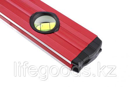 Уровень алюминиевый, 800 мм, фрезерованный, 3 глазка, две эргономичные ручки Matrix 33224, фото 2