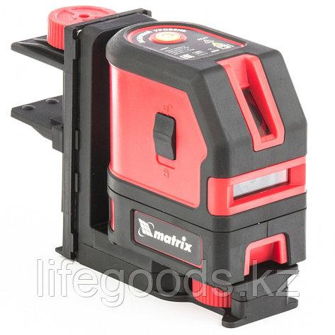 Уровень лазерный ML03, 10 м ± 0,5 мм /1 м, 635нм, 1 вертикальная, 1 горизонтальная плоскость, подставка, фото 2
