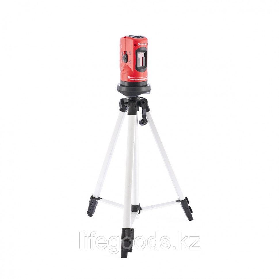 Уровень лазерный, 100 мм, штатив 1260 мм, самовыравнивающийся Matrix 35023