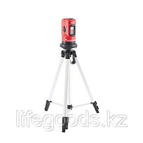 Уровень лазерный, 100 мм, штатив 1260 мм, самовыравнивающийся Matrix 35023, фото 2
