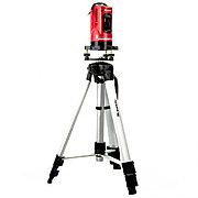 Уровень лазерный, 150 мм, штатив 1100 мм, самовырав, набор в пластиковый кейс,е Matrix 35033