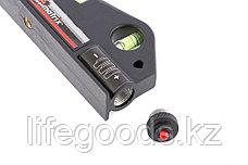 Уровень лазерный, 170 мм, 150 мм штатив, 3 глазка Matrix 35020, фото 3