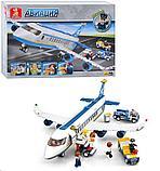Конструктор Sluban Авиация: Аэробус , 493 деталей аналог лего Lego City Аэропорт, фото 3