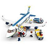 Конструктор Sluban Авиация: Аэробус , 493 деталей аналог лего Lego City Аэропорт, фото 4