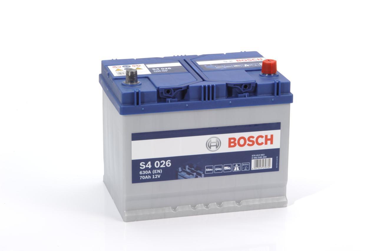 Аккумулятор BOSCH 70Ah 570 412 063