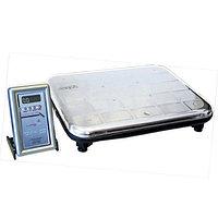 Весы ВЭУ-150 с автономным питанием и выносным пультом управления на гибкой связи