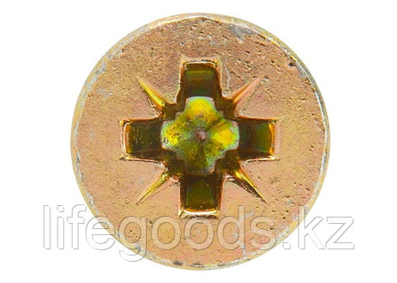 Дюбель-гвоздь полипропиленовый грибовидный бортик 6 x 40 мм, 200 шт Сибртех 42156, фото 2