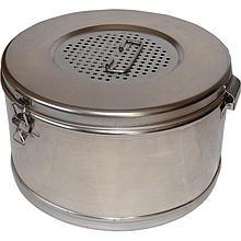 Коробка стерилизационная круглая с фильтром КСКФ-6