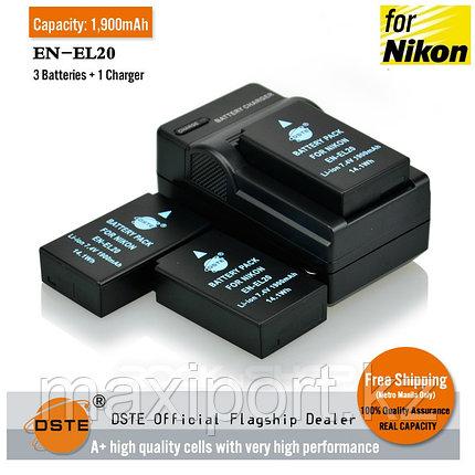 Зарядка nikon en-el20 EN-EL20, фото 2
