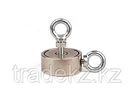 Поисковый магнит неодимовый двухсторонний Forceberg F120х2, фото 2