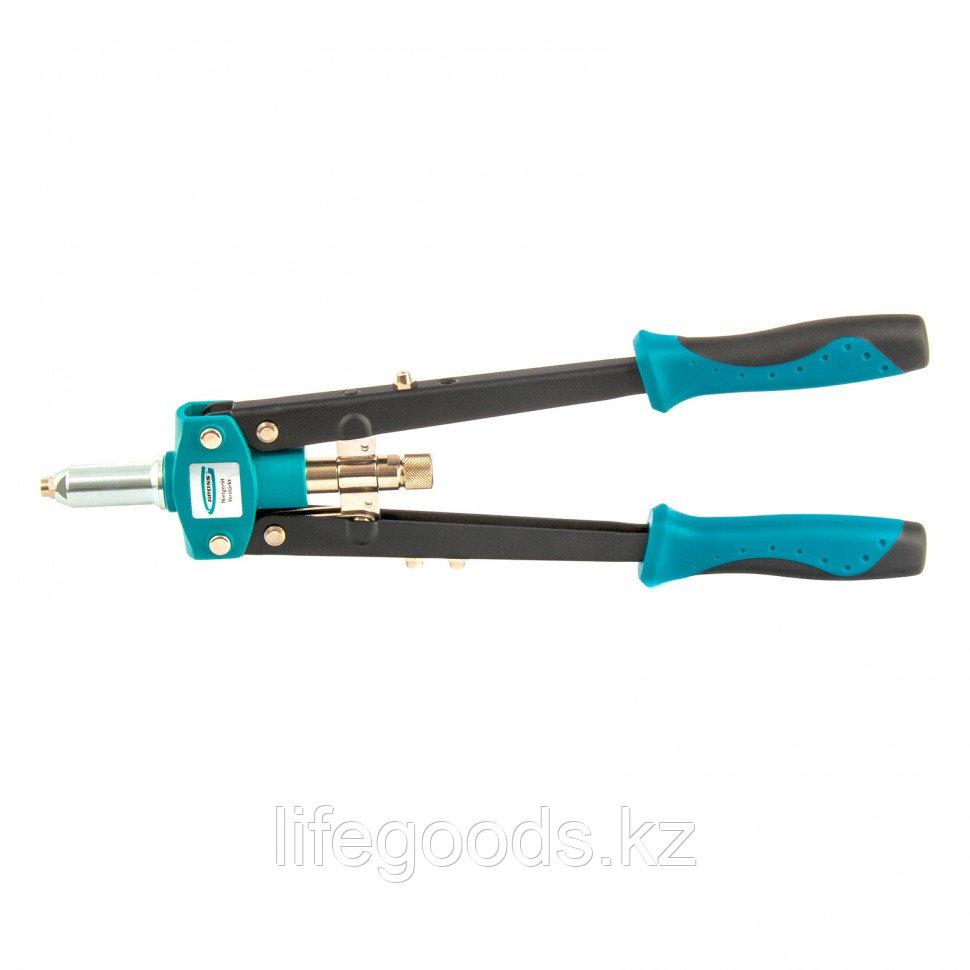 Заклепочник двуручный 420 мм, двухкомпонентные рукоятки, для заклепок 2,4-3,2-4,0-4,8 Gross 40407