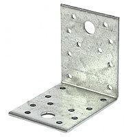 Крепежный уголок 2,5 мм, КU 70 x 70 x 55 мм Россия Сибртех 464033