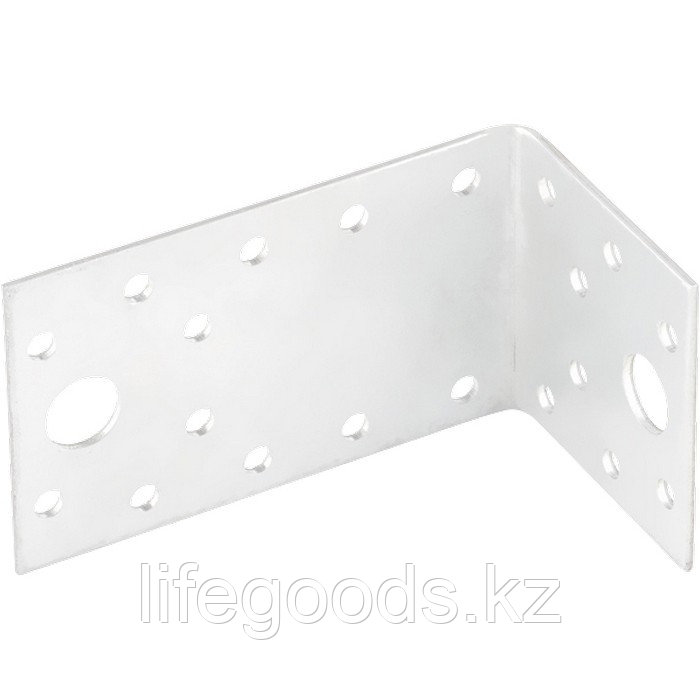 Крепежный уголок ассимичный 2 мм, KUAS 145 х 55 х 65 мм Россия Сибртех 46451