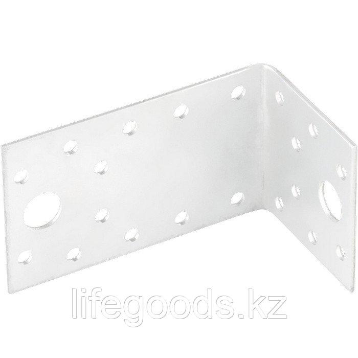 Крепежный уголок ассимичный 2 мм, KUAS 145 х 55 х 90 мм Россия Сибртех 46450
