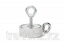 Поисковый магнит неодимовый двухсторонний Forceberg F200х2, фото 2