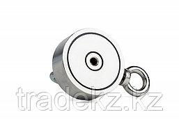 Поисковый магнит неодимовый двухсторонний Forceberg F200х2, фото 3