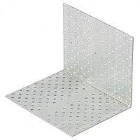 Крепежный уголок равносторонний 2 мм, KUR 160 x 160 x 200 мм Россия Сибртех 46596