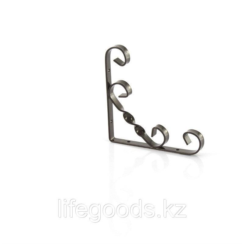 Кронштейн декоративный, 100 х 100 мм, коричневый Сибртех 94053