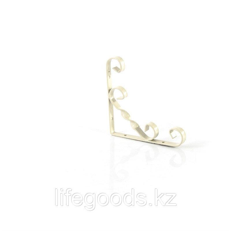 Кронштейн декоративный, 150 х 150 мм, белый Сибртех 94050