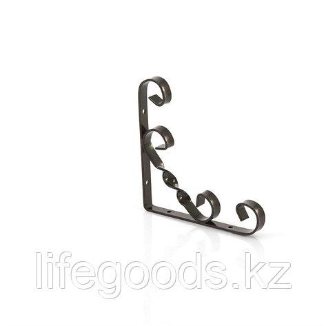 Кронштейн декоративный, 150 х 150 мм, коричневый Сибртех 94054, фото 2