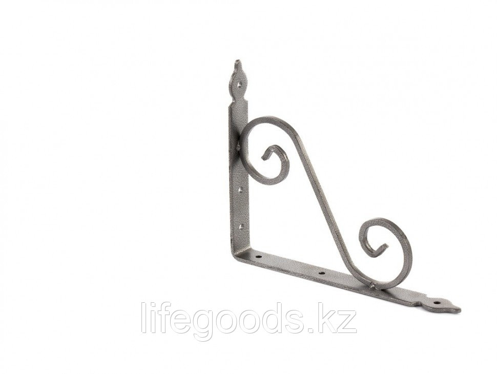 Кронштейн декоративный, 190 х 240 х 25 х 3.5 мм, темно-серый Сибртех 94062
