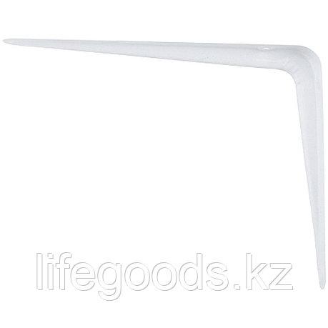 Кронштейн угловой с ребром, 150х200 мм, белый Сибртех 93952, фото 2
