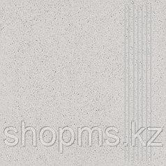 Керамический гранит ШахтинскаяТехногрес ступени св-сер(300х300)