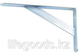 Кронштейн усиленный, 300 х 200 х 30 х 4 мм, оцинкованный Сибртех 94041