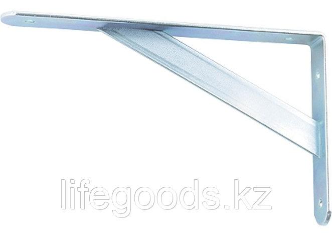 Кронштейн усиленный, 300 х 200 х 30 х 4 мм, оцинкованный Сибртех 94041, фото 2
