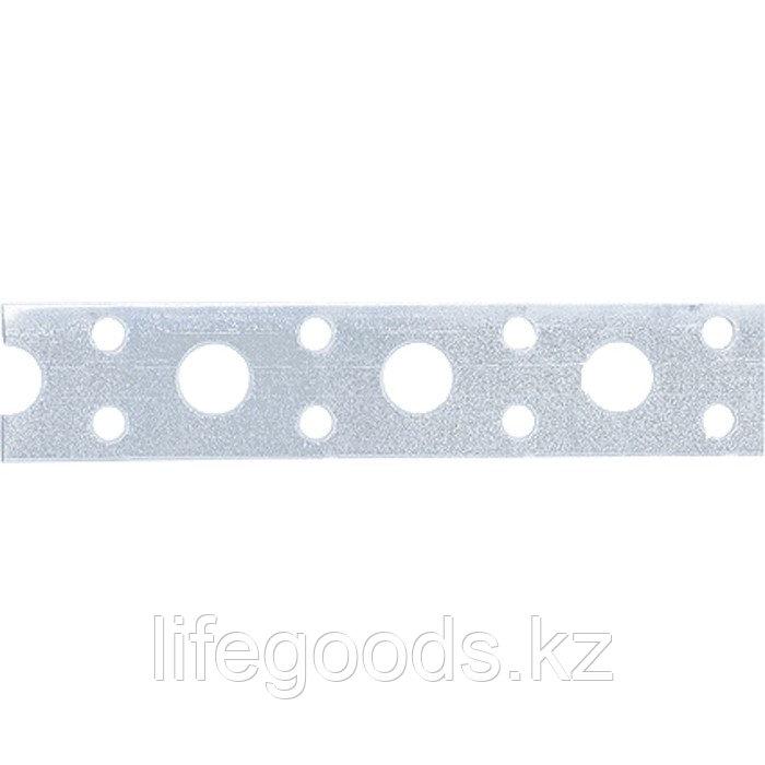 Лента перфорированная, вентиляционная, прямая, 1 мм, LP V, 2 см х 25 м, цинк Россия Сибртех 46551
