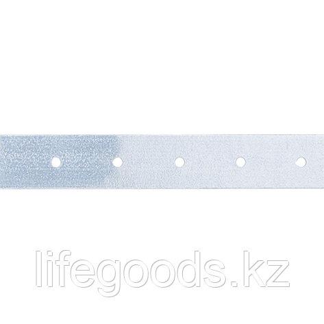 Лента тарная, 0,55 мм, LT 2 см х 25 м, цинк Россия Сибртех 46554, фото 2