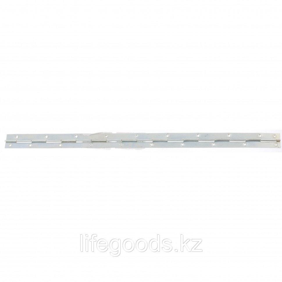 Петля рояльная L-750 мм, цинк, (Металлист) Россия 91568
