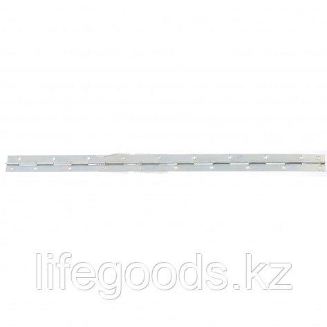 Петля рояльная L-750 мм, цинк, (Металлист) Россия 91568, фото 2