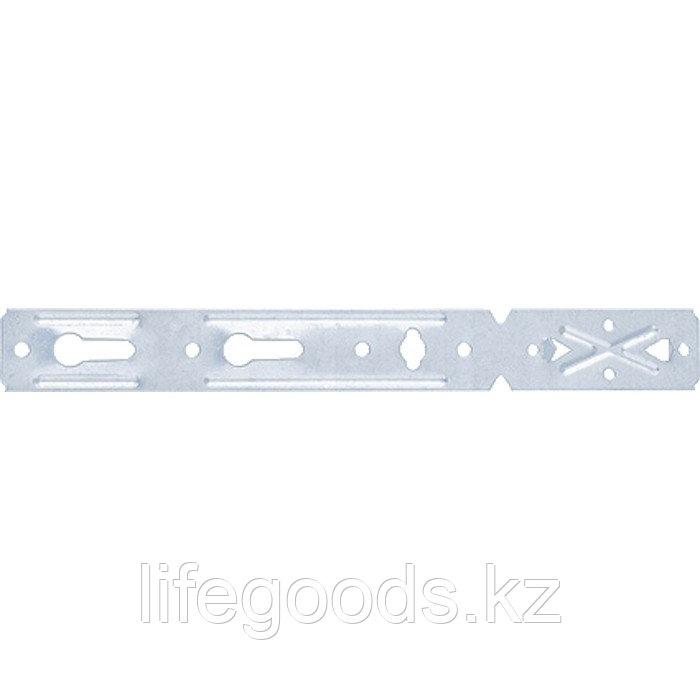 Пластина анкерная AOD для деревянных окон, 190 мм, цинк Россия Сибртех 46558