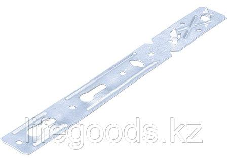 Пластина анкерная AOD для деревянных окон, 190 мм, цинк Россия Сибртех 46558, фото 2