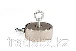 Поисковый магнит неодимовый двухсторонний Forceberg F300х2, фото 2