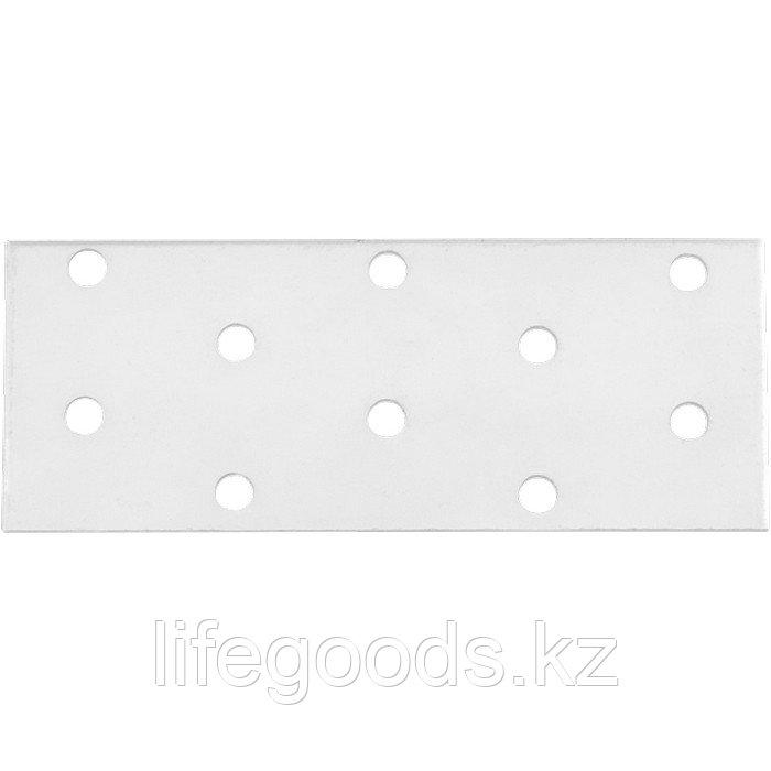 Пластина соединительная 2 мм, PS 40 х 80 мм Россия Сибртех 46457