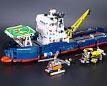 Конструктор Decool Technic Исследователь океана 3370 (Аналог LEGO Technic 42064) 1342 дет, фото 5
