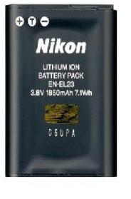 Зарядка nikon en-el23 EN-EL23